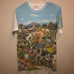 Simpson's Universal studios Krusty land Shirt